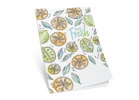 Women's Personal Planner - Think Fresh